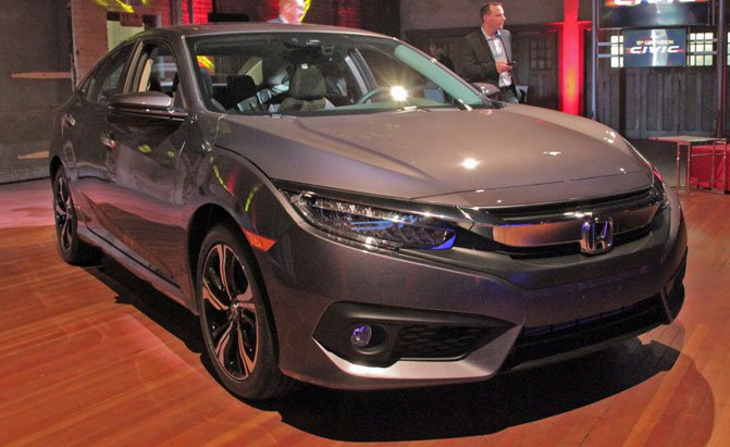 Honda Debuts 2016 Civic Sedan for North America (Picture)