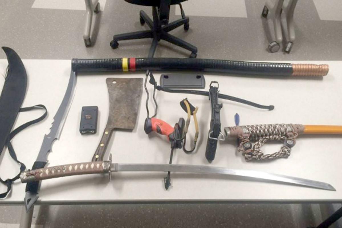 Matthew Bromson: Man arrested after weapons seized at Gillette Stadium
