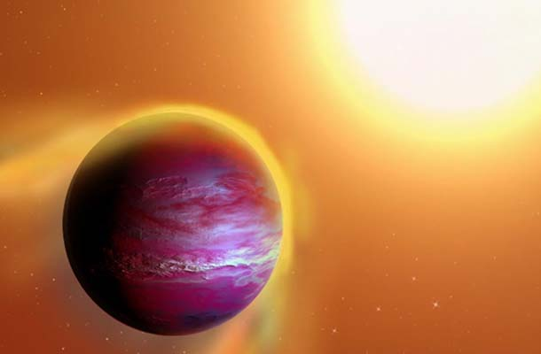 Newborn Planet is Getting Destroyed by its Own Star, says new research