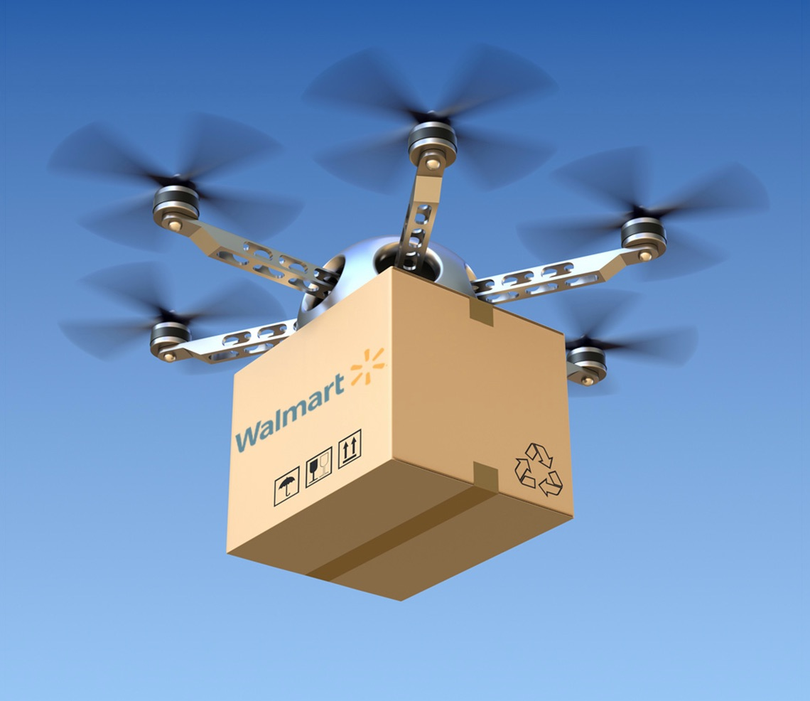 Walmart testing drones in distribution centers