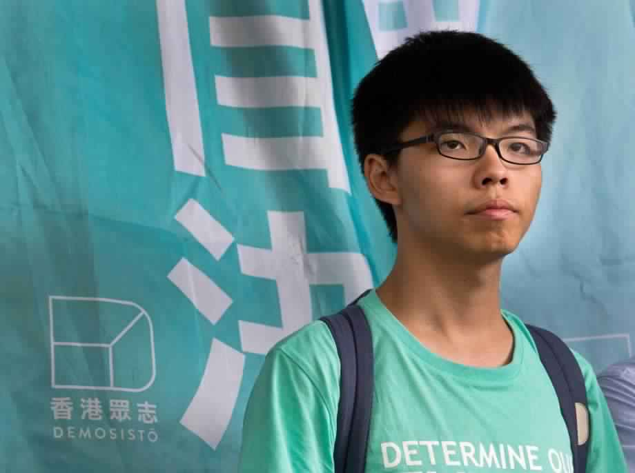 Joshua Wong: Hong Kong protest leaders avoid jail time for illegal rally