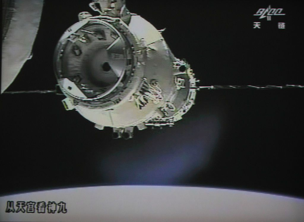 China says its space station is falling back to earth (officials)