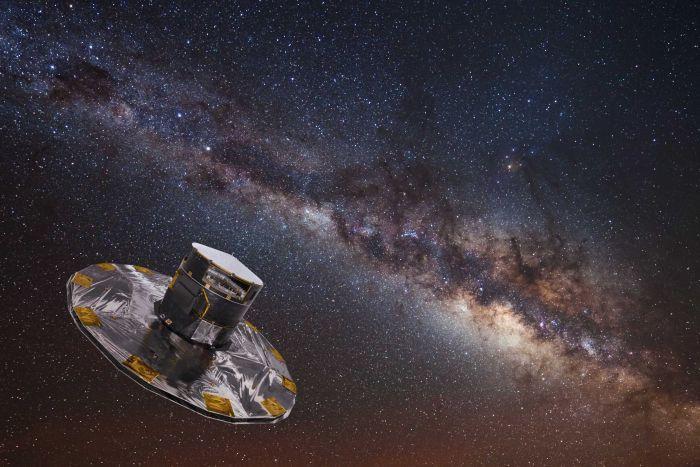 European Space Agency Probe Maps 1.15 Billion Stars