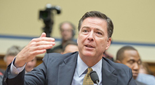 James Comey: FBI director defends Clinton email decision in memo to employees