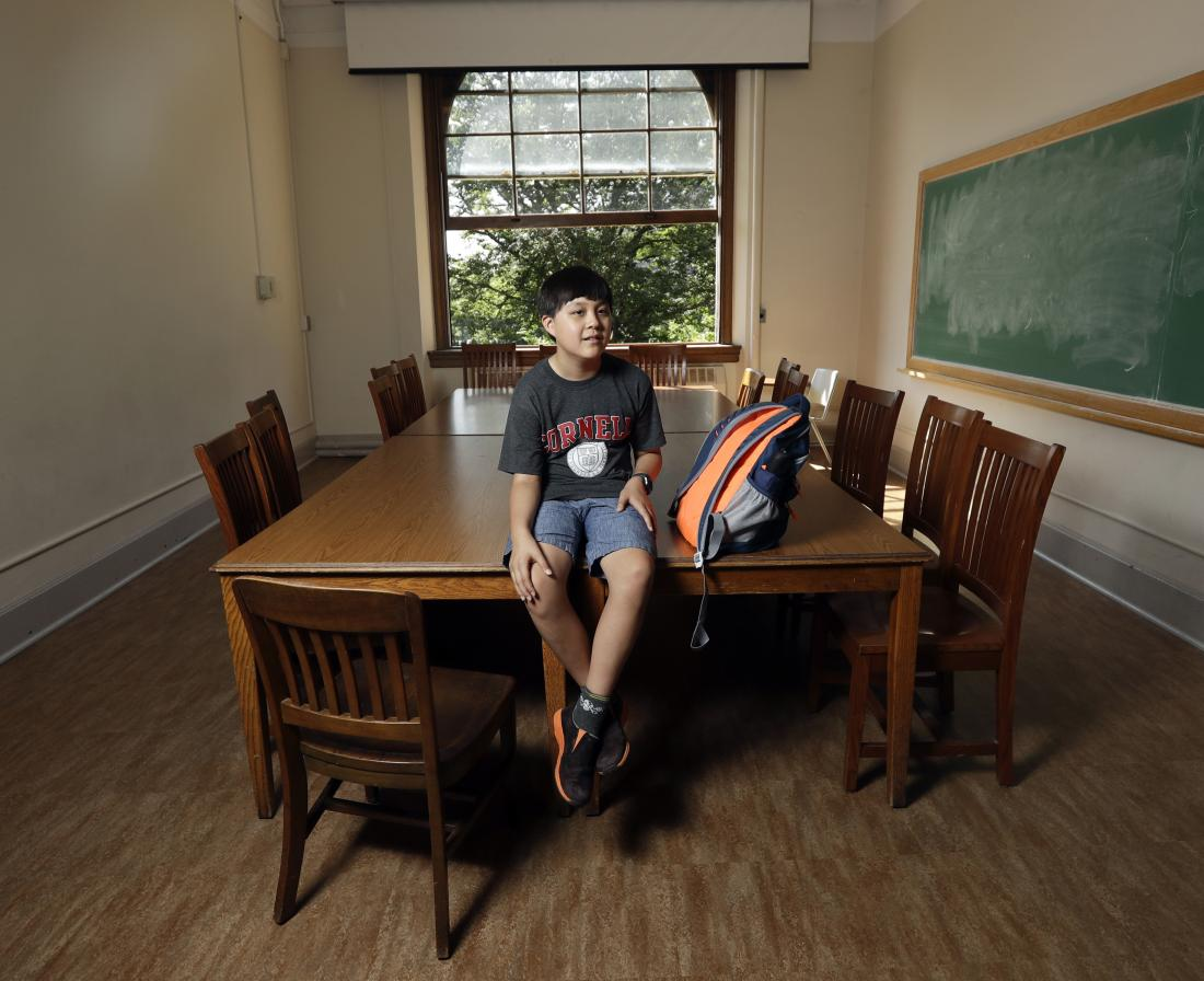 Jeremy Shuler: 12-year-old boy begins freshman year at Cornell