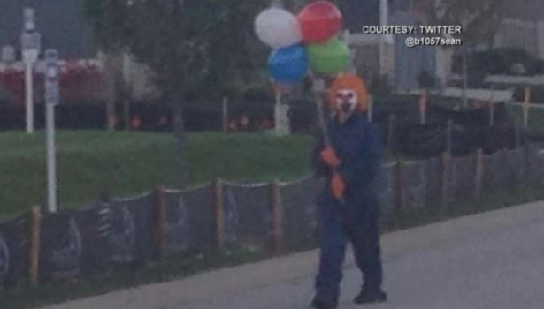 South Carolina clown sightings starting to spread (Picture)