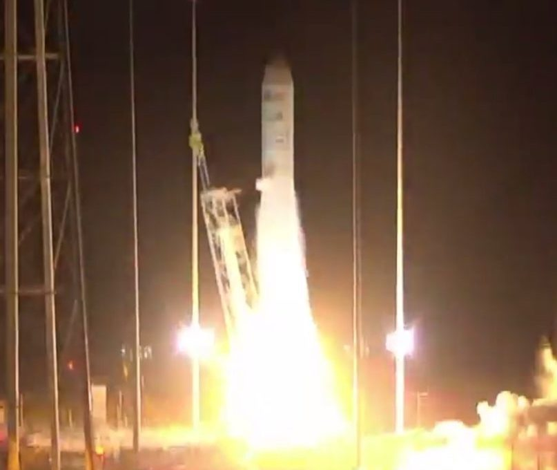 Orbital ATK's Antares rocket launches for first time since 2014 explosion