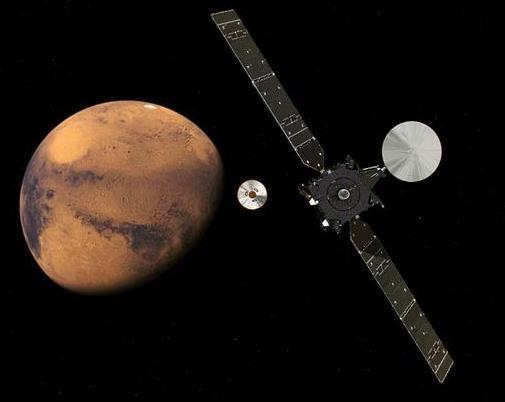 Schiaparelli: European probe set to touch down on Mars