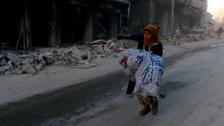 Aleppo School Bombed: Syrian Family, Pupils Among Dozens Killed