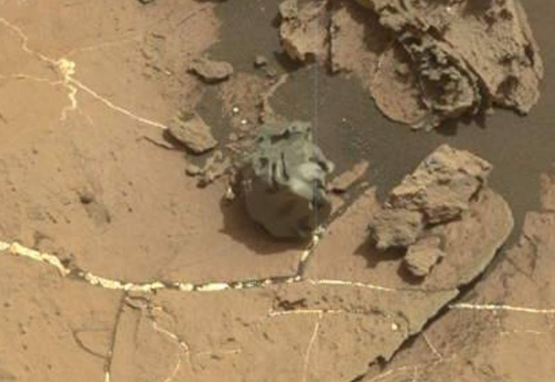 Mars rover: Curiosity has spotted a weird metallic meteorite