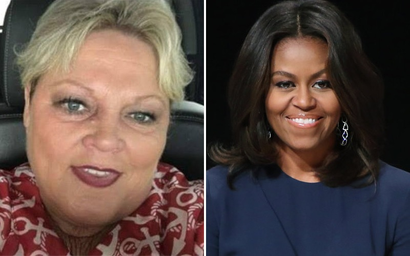 Michelle Obama: Racist woman who called Obama 'ape in heels' allowed to keep her job
