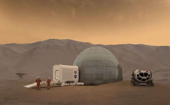 NASA Ice House: First Humans On The Red Planet May Live In Igloos Made Of Martian Water-Ice
