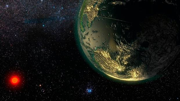 New super-Earth is discovered: Scientists discover planet ...