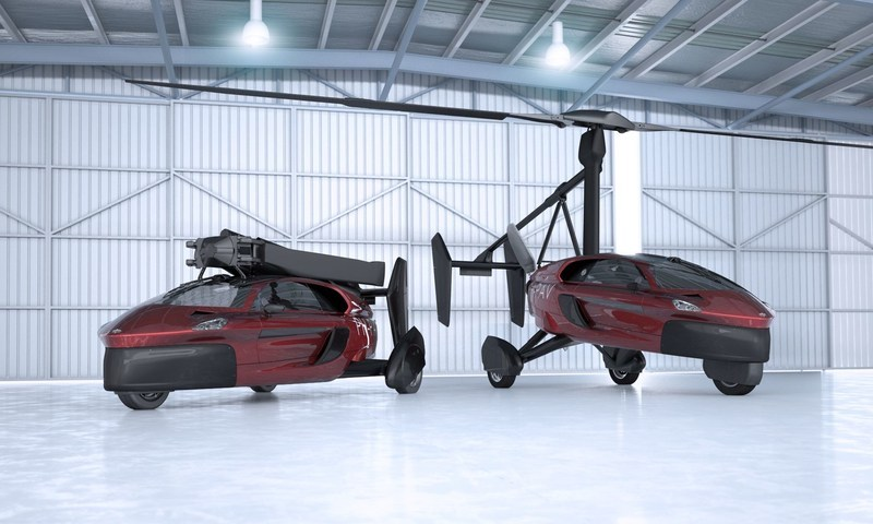 Pal-V launches first commercial flying car (PAL V Liberty)