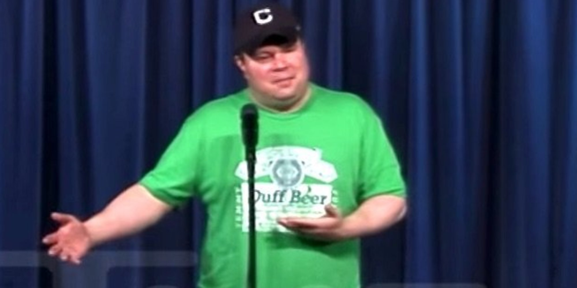 John Caparulo: Comic Gets Pegged With A Cocktail After A Trump Joke [Video]