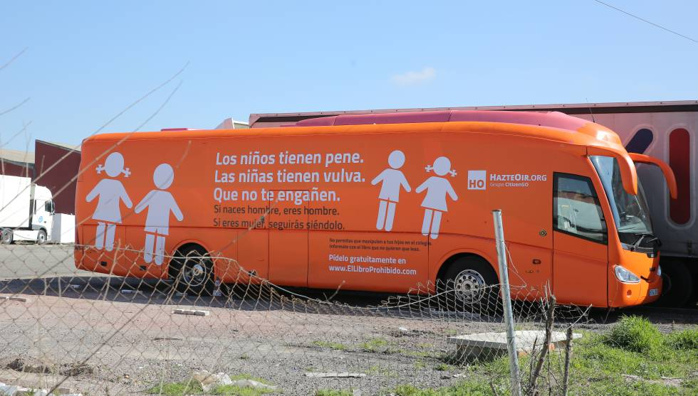 Madrid Anti-transgender Bus Impounded by Spanish Judge