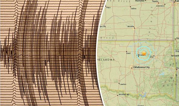 Oklahoma Earthquake hazard as high as California