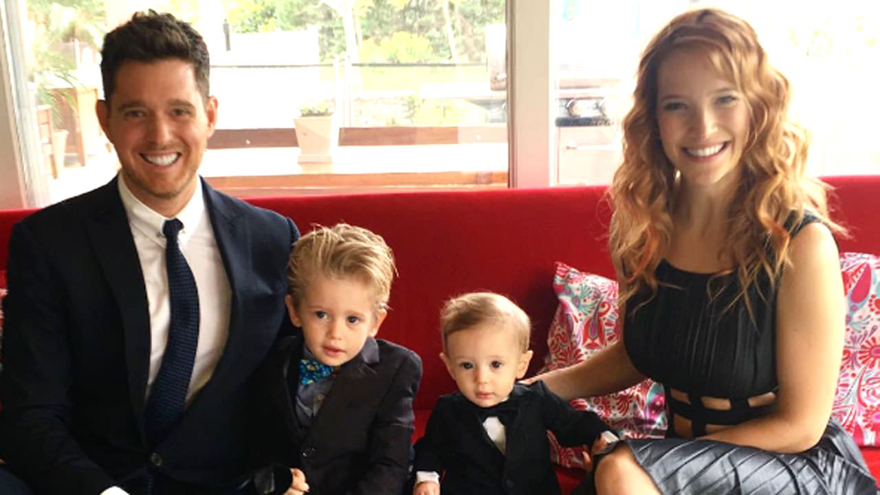 Michael Buble's son's recovery hailed as a