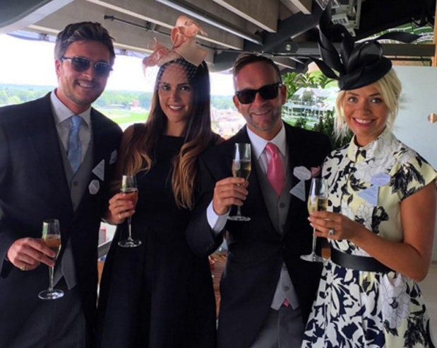 Holly Willoughby slammed after sharing Ascot Races pics