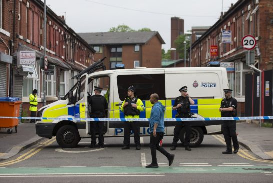 UK police probe car for clues in Manchester