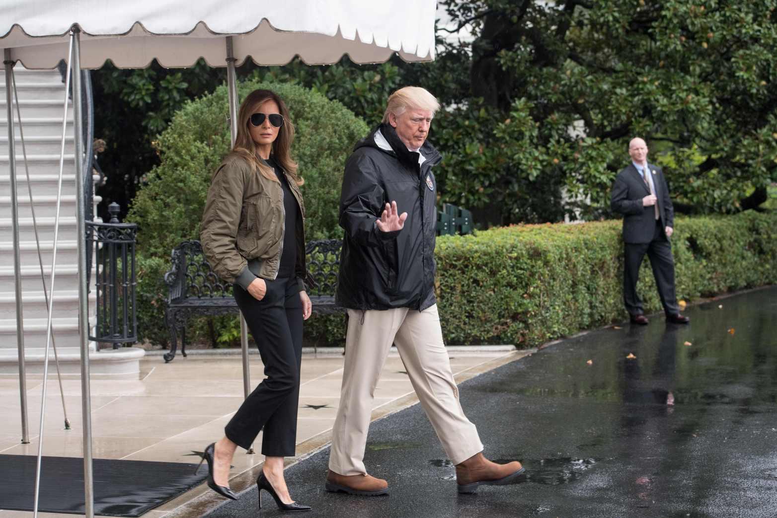 Melania Trump's Texas Heels Erupt on Twitter