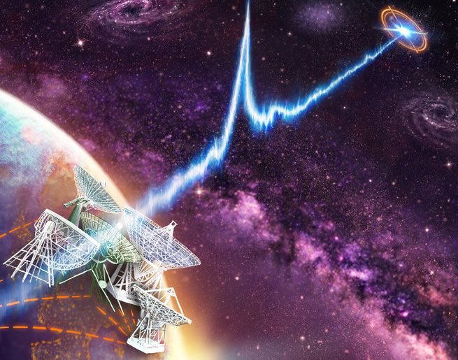 E.T. Calling? Mysterious Radio Signal Bursts Tracked To Dwarf Galaxy