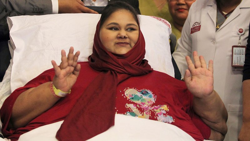 Eman Ahmed, former world's heaviest woman dies in hospital aged 37