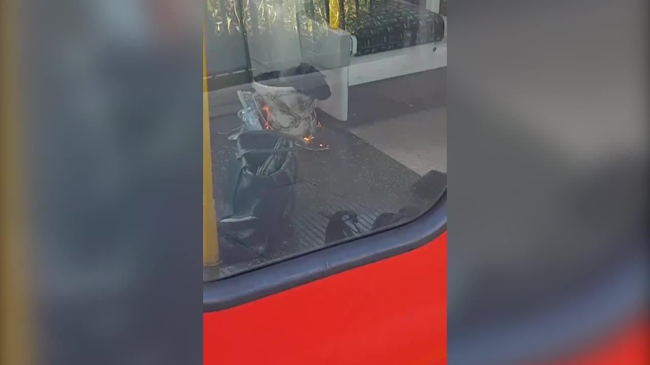 London bomb blast: Parsons Green panic as bag explodes (Video)