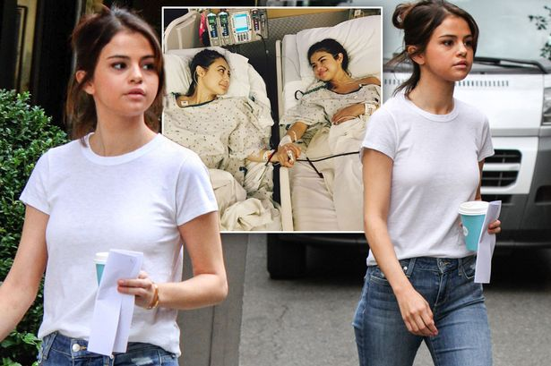 Selena Gomez steps out after kidney transplant