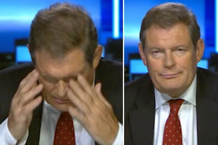 Sky News Reporter Jon Craig has a meltdown live on air (Video)