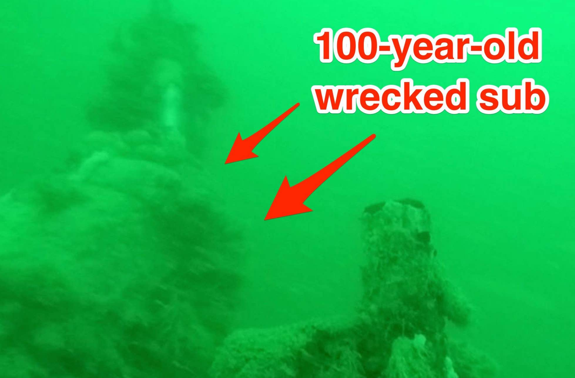Wreck Of WW1 U-boat Found Off Belgium (Video) - Web Top News