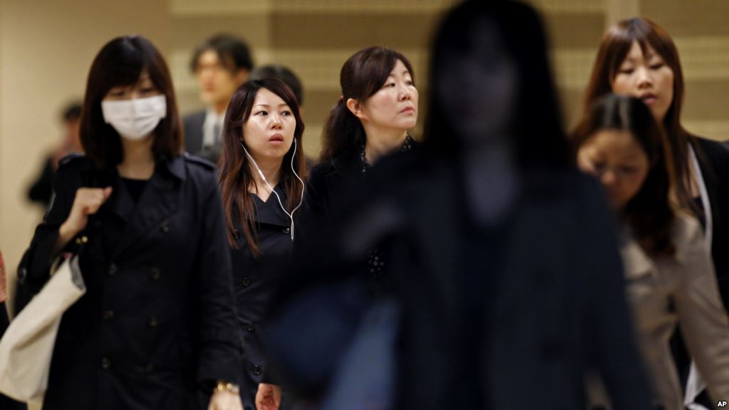 Japanese woman 'dies from overwork' , Report