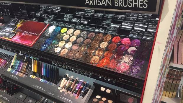 Child destroys $1300 worth of makeup At Sephora