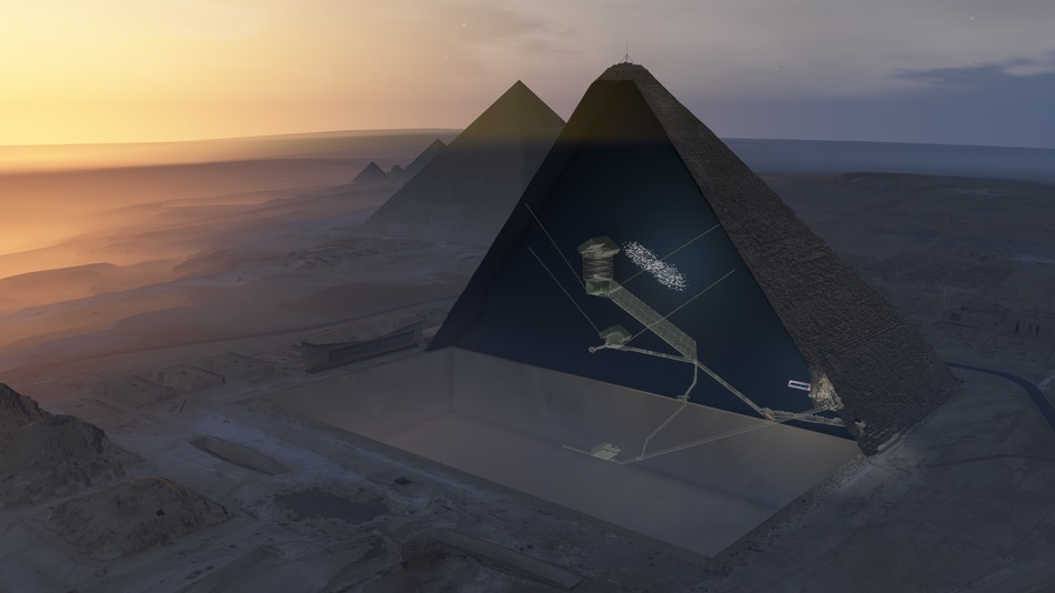 Great Pyramid of Giza: 'Deep void' Discovered
