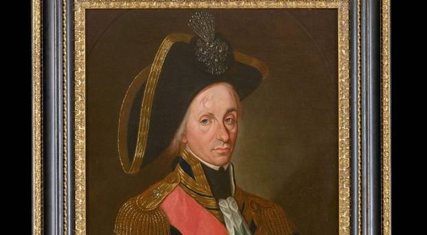 Lost painting of Lord Nelson reveals facial scars