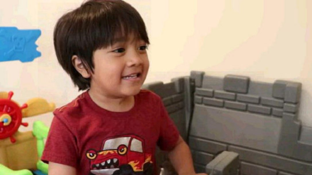 6- year-old Kid shares 8th position on the Forbes list