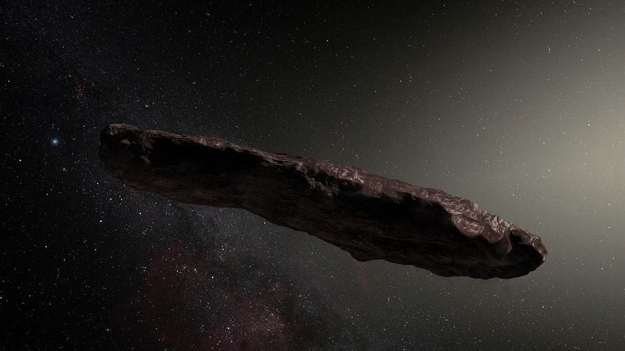 Alien spacecraft passing earth, scientists digging deep