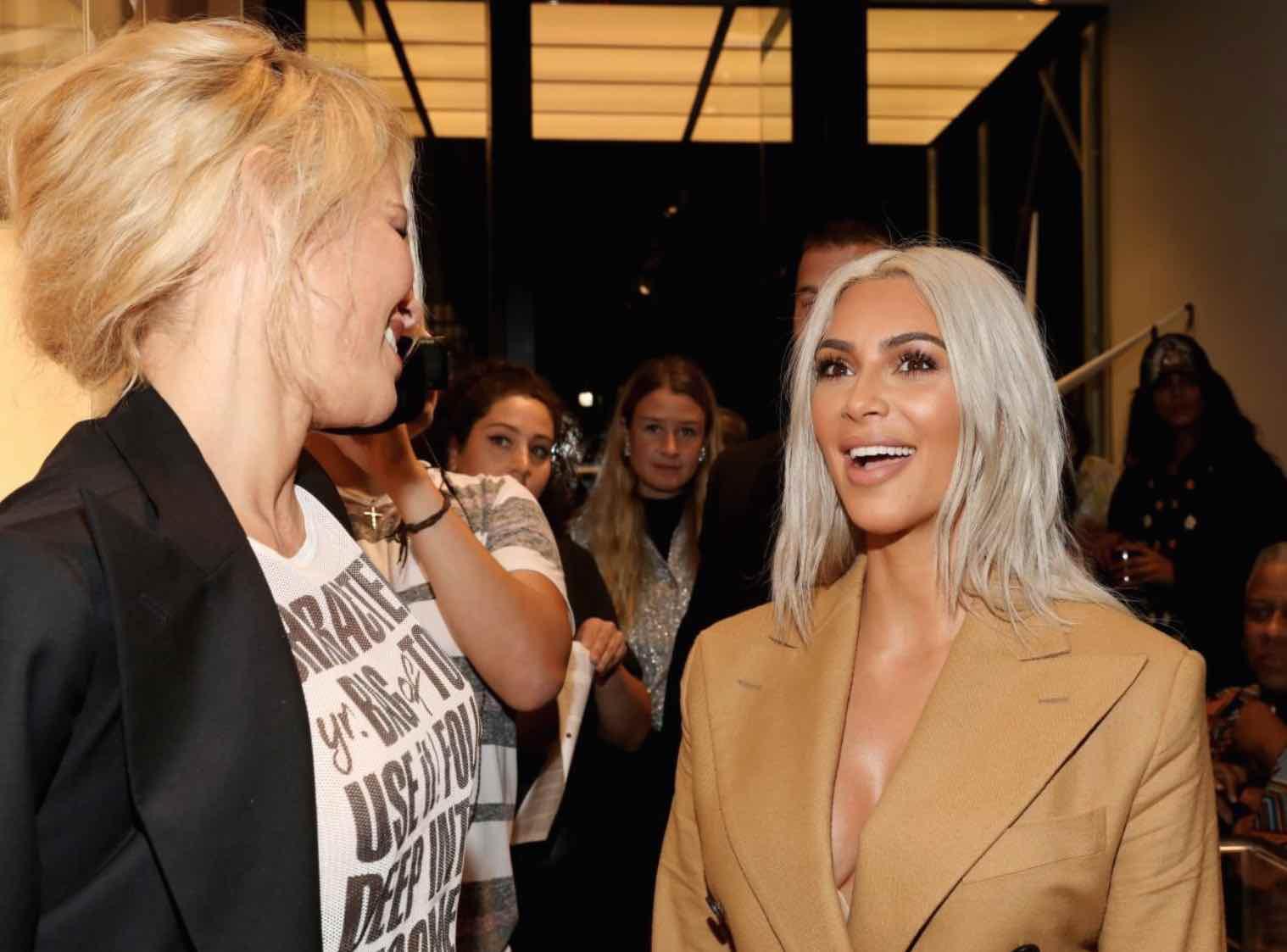 Baywatch star Pamela Anderson sends Kim Kardashian a fake fur coat