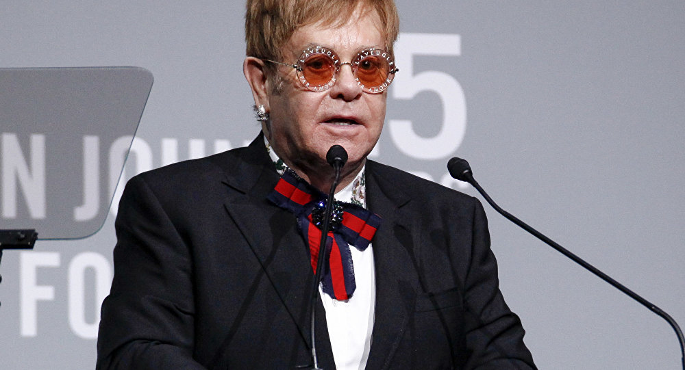 Elton John's mother dies just months after healing longtime rift