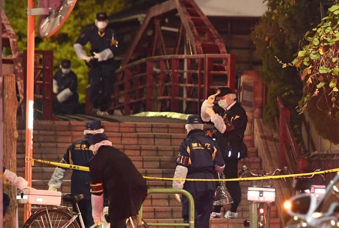 Knife attack at Tokyo shrine: Three people dead, one injured