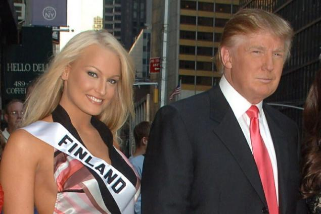Photos show Trump with women he claims he never met