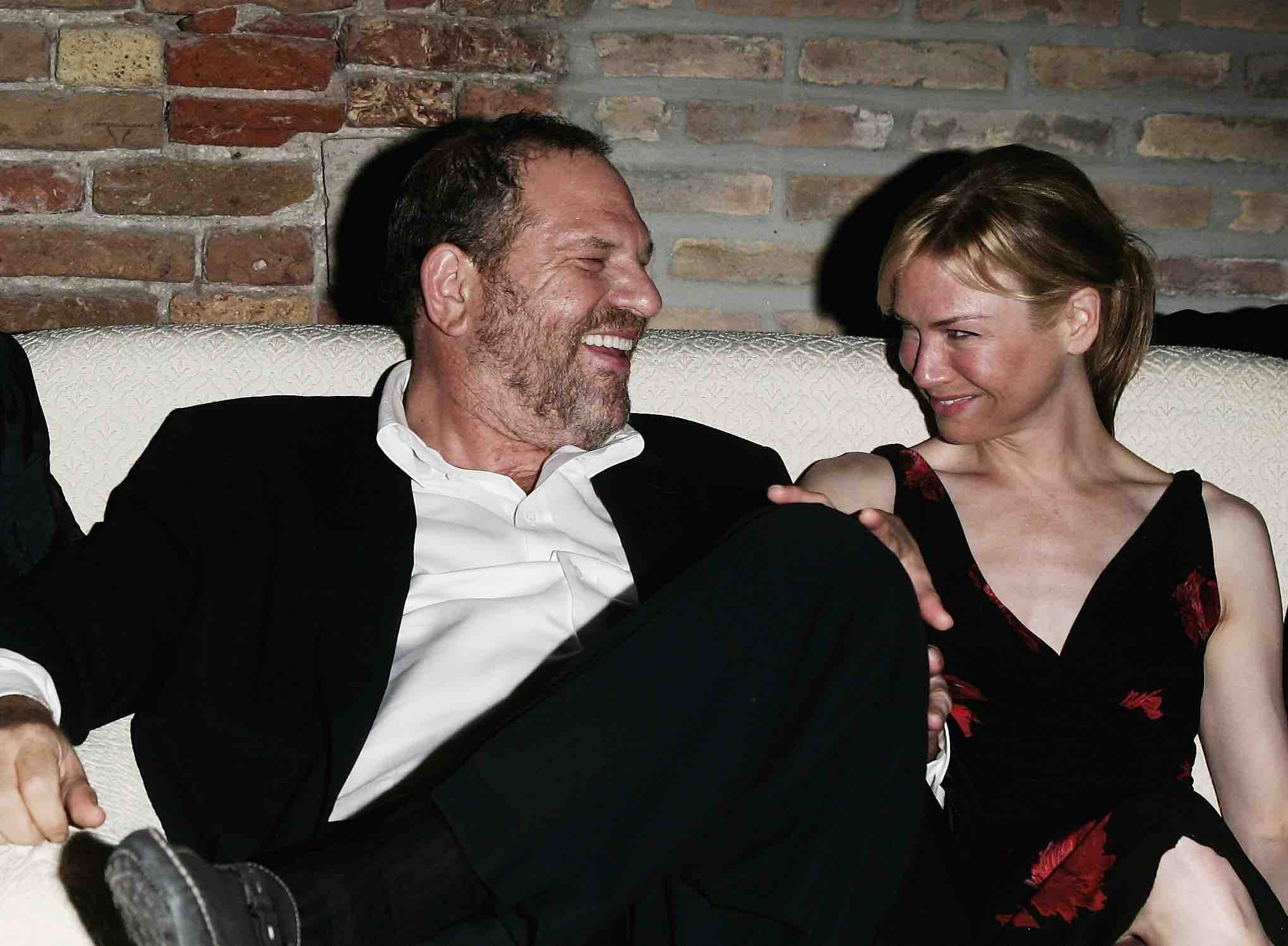 Renee Zellweger denies ever giving Harvey Weinstein sexual favours