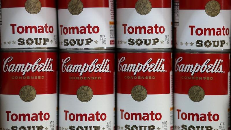 Couple Donates Soup Can Containing Savings