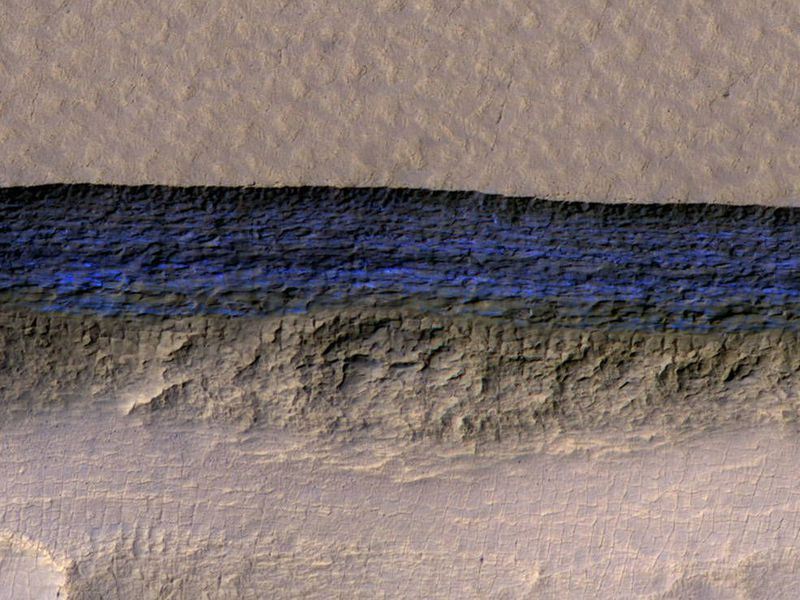 Deposits of ice discovered on Mars, says new research