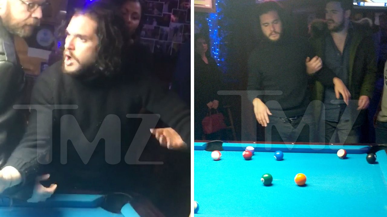 Kit Harington Gets Thrown out from NYC Bar (Watch)