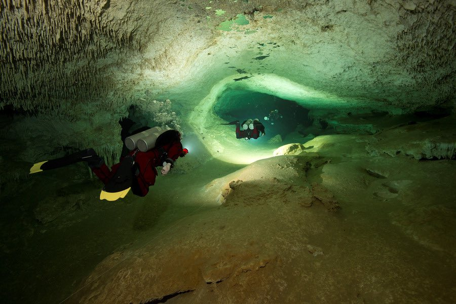 Longest underwater cave discovered by divers in Mexico