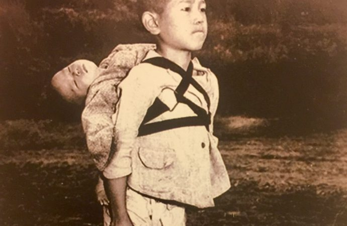 Pope Francis orders image of young Nagasaki victims to be printed