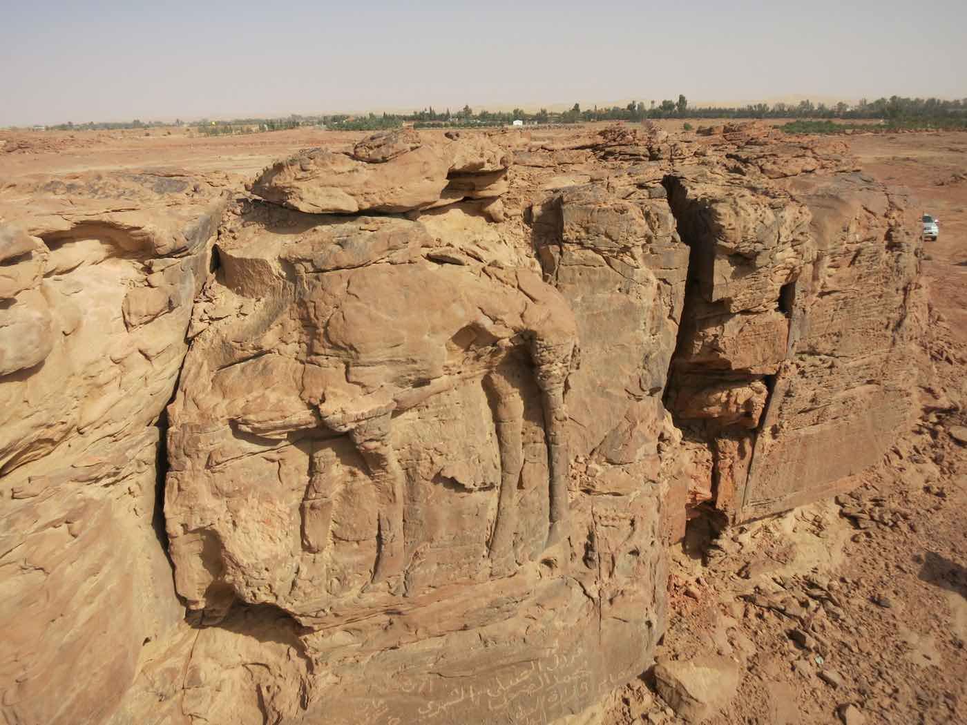 Ancient Rock Carving found in remote Saudi Arabia