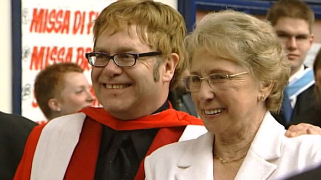 Elton John snubbed by his mother in her will