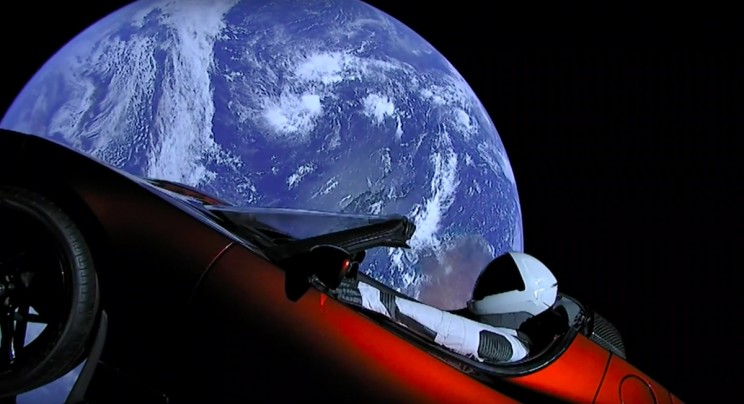 NASA: Tesla Roadster is Officially a Celestial Object